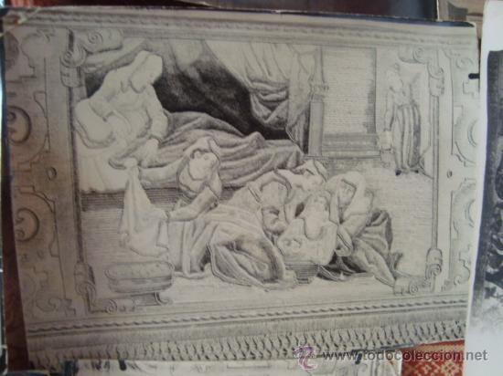 Fotografía antigua: antiguas fotografias de antiguos bordados religiosos, - Foto 9 - 32505776