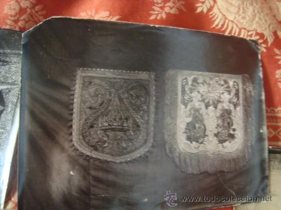 Fotografía antigua: antiguas fotografias de antiguos bordados religiosos, - Foto 7 - 32505776