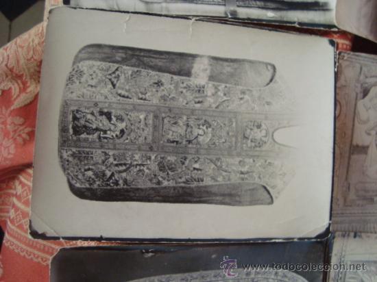 Fotografía antigua: antiguas fotografias de antiguos bordados religiosos, - Foto 15 - 32505776