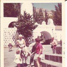 Fotografía antigua: ** G482 - FOTOGRAFIA - AMIGAS MONTANDO EN BURRITO. Lote 32866583