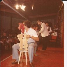 Fotografía antigua: == C910 - FOTOGRAFIA - CHICO MONTANDO A CABALLITO. Lote 32866598