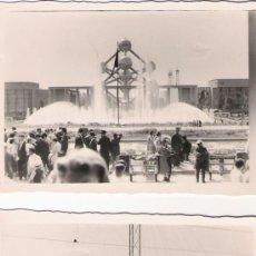 Fotografía antigua: DOS FOTOGRAFIAS DE LA EXPO DE 1958 - 10 X 7 CMS.. Lote 32880571