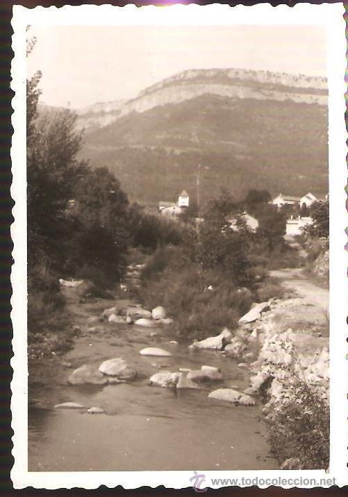 RIERA D´ ABANCO. ANY 1953 (Fotografía - Artística)