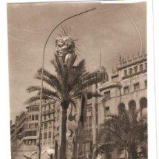 Fotografía antigua: VALENCIA. FALLA AYUNTAMIENTO AÑO 1970. EL COLOSO DE RODAS. Lote 33474417