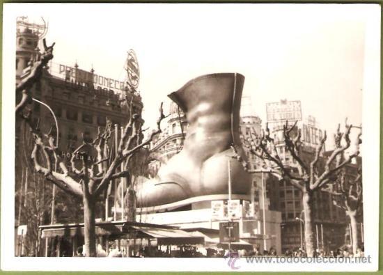 VALENCIA. FALLA PLAZA DEL CAUDILLO AÑO 1967 (Fotografía - Artística)
