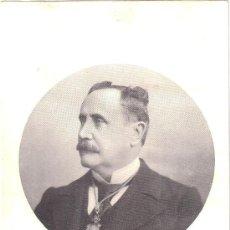 Fotografía antigua: RETRATO DE D. MARIANO BATTLÉS, DECANO DE LA FACULTAD DE MEDICINA DE BARCELONA. ED. DESCHIENS. Lote 33610444