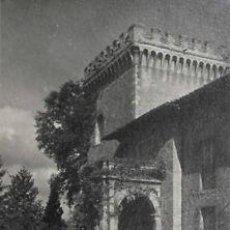 Fotografía antigua: FOTOGRAFIA GELATINA DE PLATA DEL PALACIO DE LA COGOLLA DE NAVA-ASTURIAS-ESPAÑA. CA.1920.. Lote 33800976