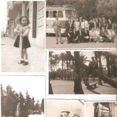 Fotografía antigua: CONJUNTO DE 19 ANTIGUAS FOTOGRAFIAS (VALENCIA, ALICANTE, ELCHE, MALLORCA...). Lote 33946379