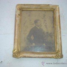 Fotografía antigua: FOTO ANTIGUA AÑO 1887 CON MARCO DORADO. Lote 34102178