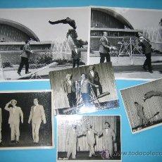 Fotografía antigua: CIRCO LOTE DE 6 FOTOGRAFIAS ORIGINALES DE HENRY-TRIO AÑOS 60 DIFERENTES TAMAÑOS. Lote 34400964
