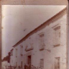 Fotografía antigua: FOTOGRAFIA - NOGALES E HIJO - CORDOBA - UNA CALLE CORDOBESA O DE ALGUNA LOCALIDAD DE LA PRIVINCIA . Lote 34530921