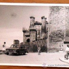 Fotografía antigua: ANTIGUA FOTOGRAFIA AÑOS 70 . CASTILLO DE PONFERRADA ( LEON). Lote 35892988