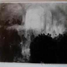 Fotografía antigua: FOTOGRAFÍA DE ARTE MORENO DE UNA OBRA DE KALLINICK GOUSEFF. Lote 36017144