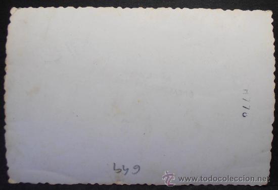 Fotografía antigua: FOTOGRAFIA 10.5X7 CM APROX, BEBE DURMIENDO EN SU CARRITO, (649) - Foto 2 - 36226705