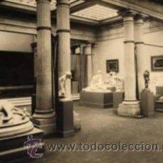 Fotografía antigua: FOTOGRAFIA MUSEU D'ART DE CATALUNYA: SALA ESCULTURA. FOT. A. MARIN. CA. 1920. Lote 36301440