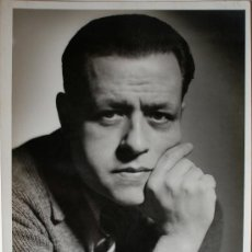 Fotografía antigua: FOTOGRAFÍA RETRATO DEL PINTOR JOSE SALA CAMPAS, FIRMADA (1949) . Lote 36320759