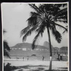 Fotografía antigua: FOTOGRAFIA 23X17 CM, PLAYA PARADISIACA, (1390). Lote 36591794