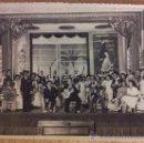 Fotografía antigua: CURIOSO LOTE DE 4 FOTOGRAFIAS DE UN ESTRENO TEATRAL 1945. Lote 36598771