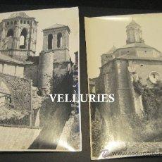 Fotografía antigua: LOTE DE 11 FOTOGRAFIAS ANTIGUAS DEL MONASTERIO DE POBLET.. Lote 37026047