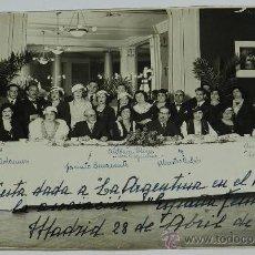 Fotografía antigua: EXCEPCIONAL FOTOGRAFIA TOMADA EN EL CONSULADO DE TANGER EN 1918, PROTECTORADO ESPAÑOL, CON ALTOS OFI. Lote 37435732