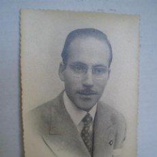 Fotografía antigua: FOTO HOMBRE AÑOS 40. Lote 37526847