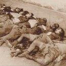 Fotografía antigua: AGUSTÍN CENTELLES. VÍCTIMAS DEL BOMBARDEO SOBRE BARCELONA. 1938 VINTAGE GUERRA CIVIL. Lote 37883539