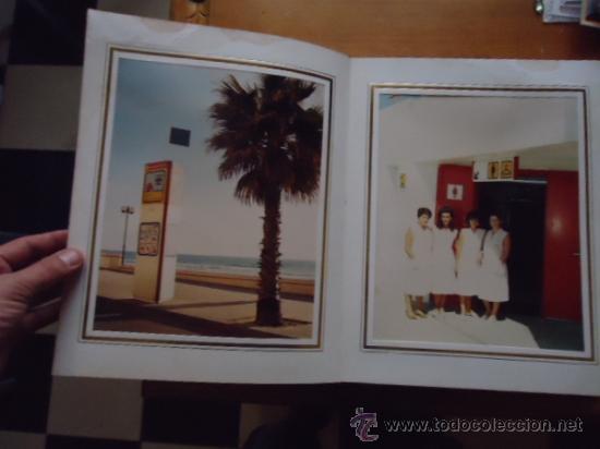 Fotografía antigua: magnifico album con fotografias cadiz paseo maritimo inauguracion, fotos videomax presentacion obra - Foto 2 - 38456237