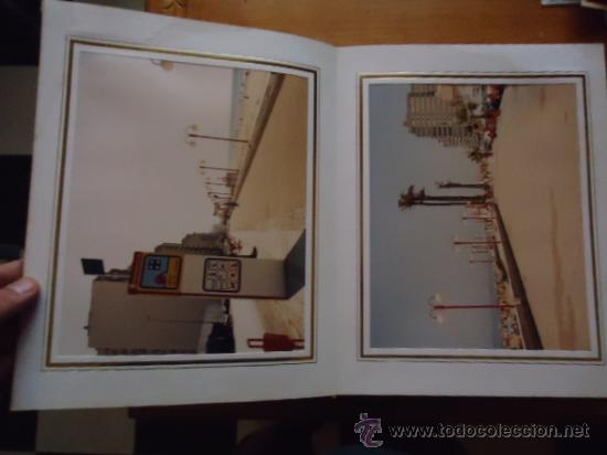 Fotografía antigua: magnifico album con fotografias cadiz paseo maritimo inauguracion, fotos videomax presentacion obra - Foto 20 - 38456237