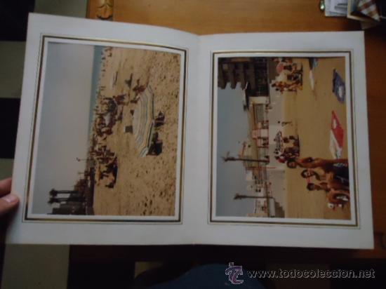 Fotografía antigua: magnifico album con fotografias cadiz paseo maritimo inauguracion, fotos videomax presentacion obra - Foto 4 - 38456237