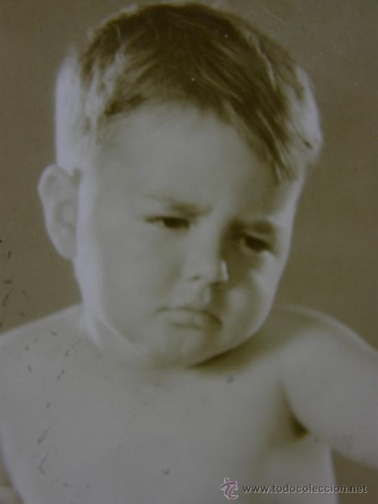 Fotografía antigua: fotografía MGM MG 29364X el pequeño Spanky de la pandilla de Hal Roach - Foto 2 - 38708364