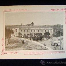 Fotografía antigua: VALLADOLID - ACADEMIA DE CABALLERIA. CAMPO GRANDE. 1847 - CASTILLA Y LEON- 135 .... Lote 38986567