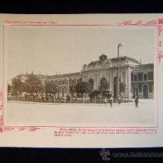 Fotografía antigua: VALLADOLID - ESTACION DEL NORTE. CAMPO GRANDE, LINEA MADRID-IRUN - CASTILLA Y LEON - 140 .... Lote 38992180