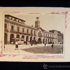 Fotografía antigua: OVIEDO - CASA CONSISTORIAL. TRECE ARCOS EN LA PLANTA BAJA. S. XVII - ASTURIAS - 257 .... Lote 39029244