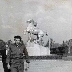 Fotografía antigua: CESAR LUCAS. VISITA DEL CHE GUEVARA A ESPAÑA. 1959 ORIGINAL, VINTAGE. Lote 39066599