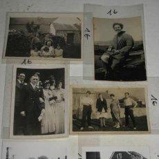 Fotografía antigua: LOTE DE 6 ANTIGUAS FOTOGRAFÍAS EN BLANCO Y NEGRO, PAISAJES Y RETRATOS.. Lote 39084910