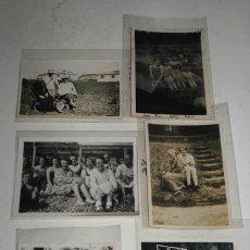 Fotografía antigua: LOTE DE 6 ANTIGUAS FOTOGRAFÍAS EN BLANCO Y NEGRO, PAISAJES Y RETRATOS.. Lote 39084930