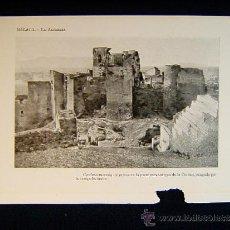 Photographie ancienne: MALAGA+LA ALCAZABA. ACROPOLIS ARABE+ANDALUCIA+308.... Lote 39109580