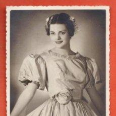 Fotografía antigua - fotografia - ++ ¿ la reconoce ? ++ - joven dama elegante - sin + datos - años 40 / 50- - 39131121
