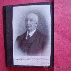 Fotografía antigua: ILLMO. S. D. VICENTE SAGARRA LASCURAIN.-CATEDRATICO DE MEDICINA OPERATORIA Y EX-RECTOR UNIVERSIDAD.. Lote 39133360