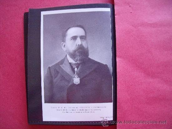 ISIDRO DE SEGOVIA Y CORRALES.-DECANO DE LA FACULTAD MEDICINA DE SALAMANCA.-CATEDRATICO DE ANATOMIA. (Fotografía - Artística)