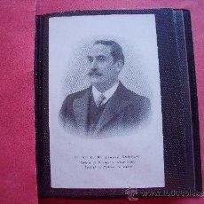 Fotografía antigua: M. ALONZO SAÑUDO.-PROFESOR DE PATOLOGIA Y CLINICA MEDICA FACULTAD DE MEDICINA DE MADRID.. Lote 39133435