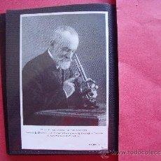 Fotografía antigua: D. LEOPOLDO LOPEZ GARCIA.-PROFESOR DE HISTOLOGIA Y DE ANATOMIA DE FACULTAD UNIVERSIDAD DE VALLADOLID. Lote 39133469