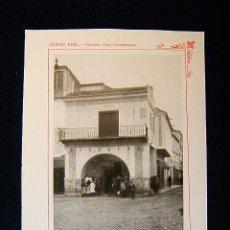 Fotografía antigua: CIUDAD REAL-ANTIGUA CASA CONSISTORIAL-S.XVII-PALACIO MUNICIPAL-CONSEJO CIUDAD-CASTILLA-LA MANCHA-538. Lote 39206466