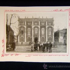 Fotografía antigua: CIUDAD REAL-BANCO DE ESPAÑA-EDIFICIO CONSTRUIDO EXPROFESO PARA EL BANCO-CASTILLA-LA MANCHA-549... Lote 39207562