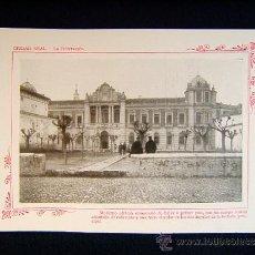 Fotografía antigua: CIUDAD REAL-LA DIPUTACION-MODERNOS EDIFICIO SIGLO XIX-ADORNADO DE COLUMNAS-CASTILLA-LA MANCHA-552... Lote 39207757