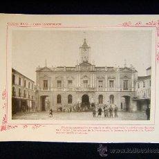 Fotografía antigua: CIUDAD REAL-CASAS CONSISTORIALES.ESTATUAS PROVIDENCIA,JUSTICIA,INDUSTRIA,..-CASTILLA-LA MANCHA-553... Lote 39207825