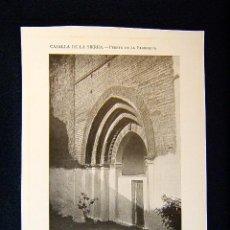 Fotografía antigua: CAZALLA DE LA SIERRA-PUERTA DE LA PARROQUIA-3 APUNTADOS ARCOS REBAJADOS-SEVILLA-ANDALUCIA-559.... Lote 39208699