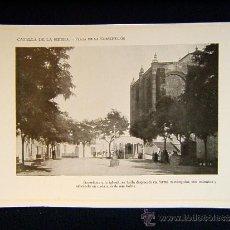 Fotografía antigua: CAZALLA DE LA SIERRA-PLAZA DE LA CONSTITUCION INMEDIATA A LA IGLESIA-ASIENTOS-EVILLA-ANDALUCIA-561... Lote 39219983