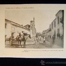 Fotografía antigua: CAZALLA DE LA SIERRA-CALLE DE LAS MONJAS-SENCILLAS PERO ASEADAS CASAS-SEVILLA-ANDALUCIA-563.... Lote 39220352