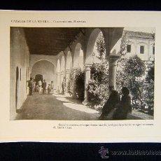 Fotografía antigua: CAZALLA DE LA SIERRA-CLAUSTRO DEL HOSPITAL-ANTIGUO CONVENTO DE SANTA CLARA-SEVILLA-ANDALUCIA-564.... Lote 39220402